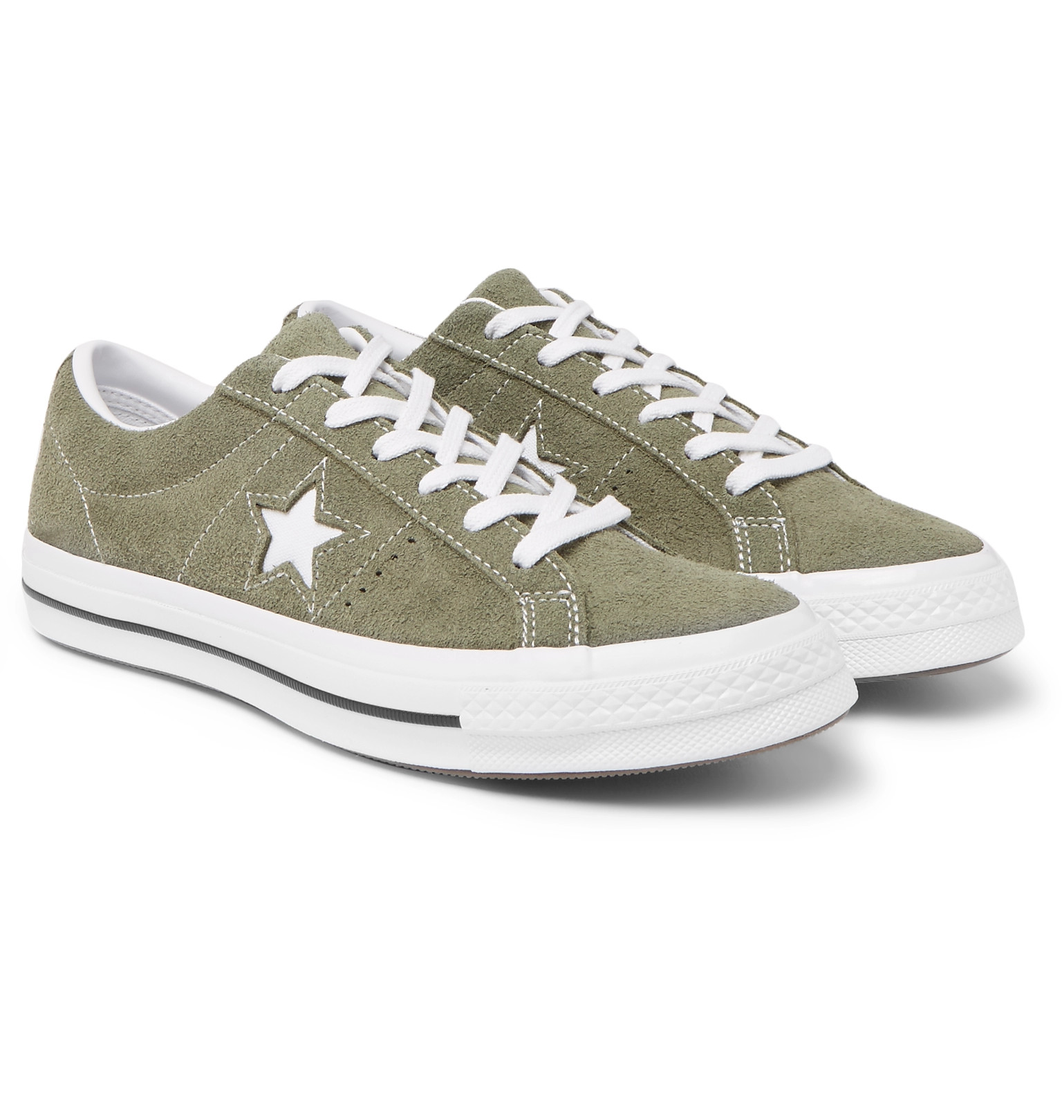 ef9896c7807 Converse - One Star OX Suede Sneakers