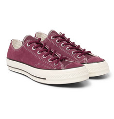 Converse - Chuck 70 OX Suede Sneakers