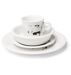 Calvin Klein Home + Andy Warhol Foundation + Hopper Printed Ceramic Dinnerware Set