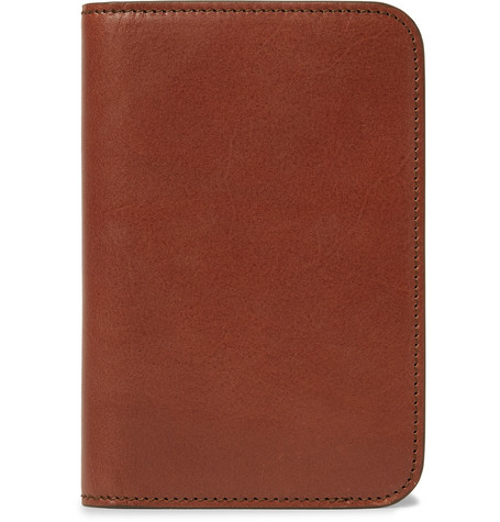 James Purdey & Sons Leather Passport Cover