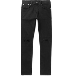 Sandro - Skinny-Fit Distressed Stretch-Denim Jeans