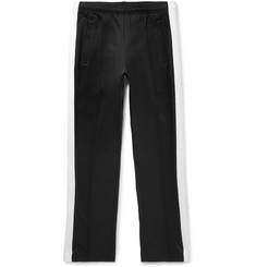 Sandro Striped Cotton-Blend Jersey Trousers
