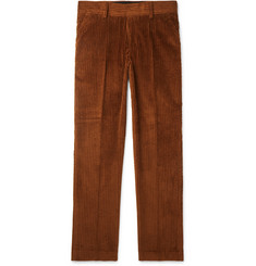 Sandro Tapered Cotton-Corduroy Trousers