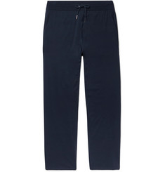 Ralph Lauren Purple Label Wide-Leg Pima Cotton-Jersey Sweatpants