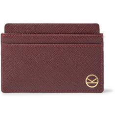Kingsman + Smythson Cross-Grain Leather Cardholder
