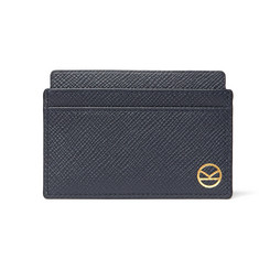 Kingsman + Smythson Panama Cross-Grain Leather Cardholder