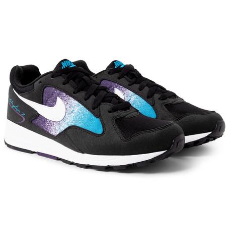 super popular c64bd 65c28 NikeAir Skylon II Felt and Mesh Sneakers