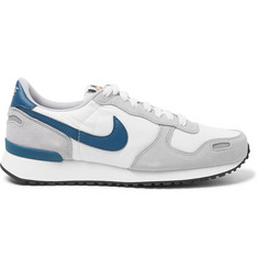 Nike Air Vortex Leather-Trimmed Suede, Nylon And Mesh Sneakers