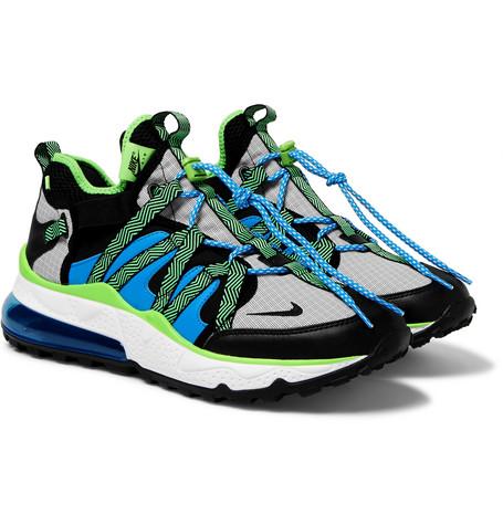 3c1dde5e11 Nike - Air Max 270 Bowfin Mesh and Nylon Sneakers