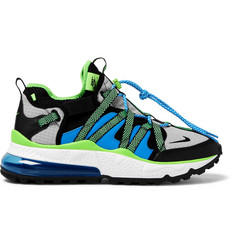 Nike Air Max 270 Bowfin Mesh and Nylon Sneakers