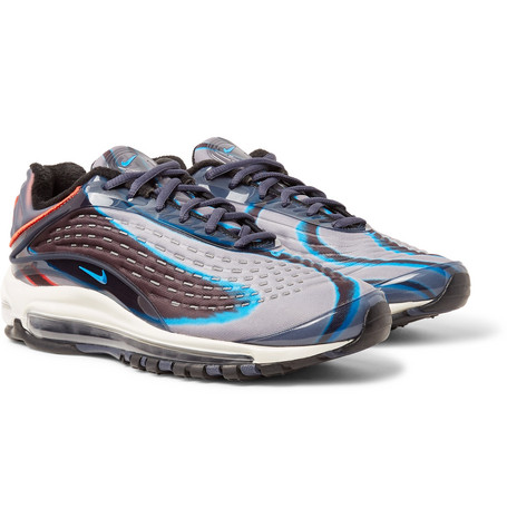 08d1e9fc4294 Nike - Air Max Deluxe Printed Neoprene and Rubber Sneakers