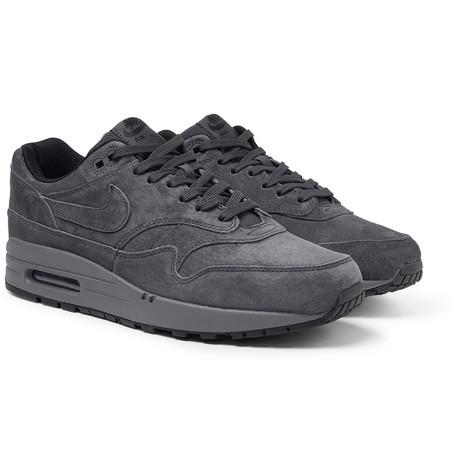 Premium SneakersCharcoal Max 1 Nike Air Suede TPkXZiOu