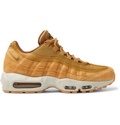 Nike Air Max 95 SE Mesh, Leather And Suede Sneakers