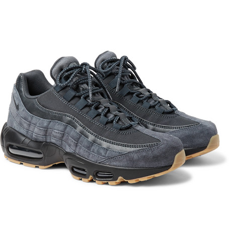 sports shoes 3a07e 69ab8 NikeAir Max 95 SE Mesh, Leather and Suede Sneakers