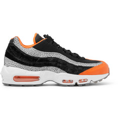 Nike Air Max 95 Panelled Leather and Mesh Sneakers