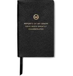 Kingsman - + Smythson Panama Cross-Grain Leather Notebook