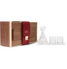 Kingsman + Higgs & Crick Three-Piece Decanter Set