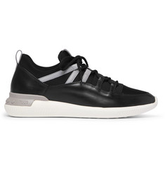 Tod's Leather and Neoprene Sneakers