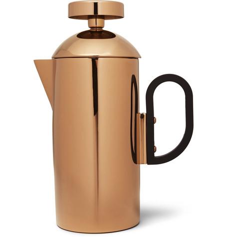 Tom Dixon Brew Copper-Plated Cafetiere