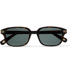 Brioni - Square-Frame Tortoiseshell Acetate and Gold-Tone Sunglasses
