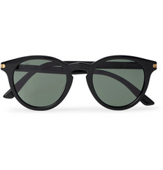 Cartier Eyewear Round-Frame Acetate Sunglasses