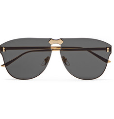 424f69595f ... 1827 S White Gold 94179. GUCCI Brown Tortoise Shell and Gold Tone Metal Aviator  Sunglasses at 1stdibs. Men  39 s Designer Sunglasses - MR PORTER