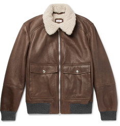 Brunello Cucinelli - Shearling Aviator Jacket