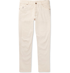 Brunello Cucinelli - Slim-Fit Stretch-Denim Jeans