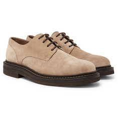 Brunello Cucinelli - Suede Derby Shoes