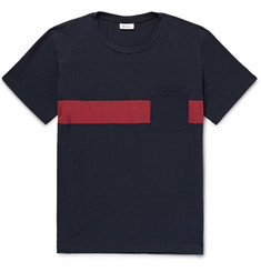 Schiesser Nick Striped Cotton-Jersey T-Shirt