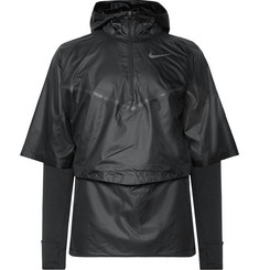 Nike Running Sphere Transform Layered Ripstop and Therma Dri-FIT Hooded Top