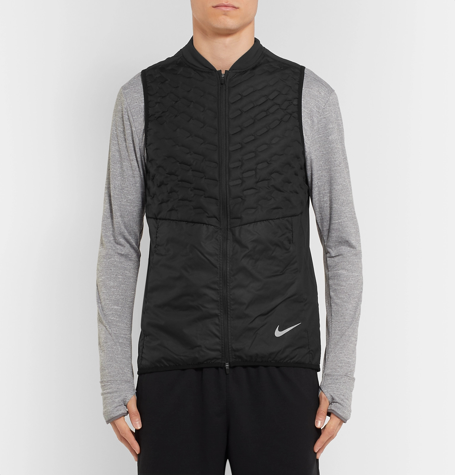 e9714c04f2d5 Nike Running - Aeroloft Slim-Fit Quilted Ripstop Down Gilet