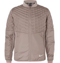 Nike Running AeroLoft Perforated Quilted Shell Jacket