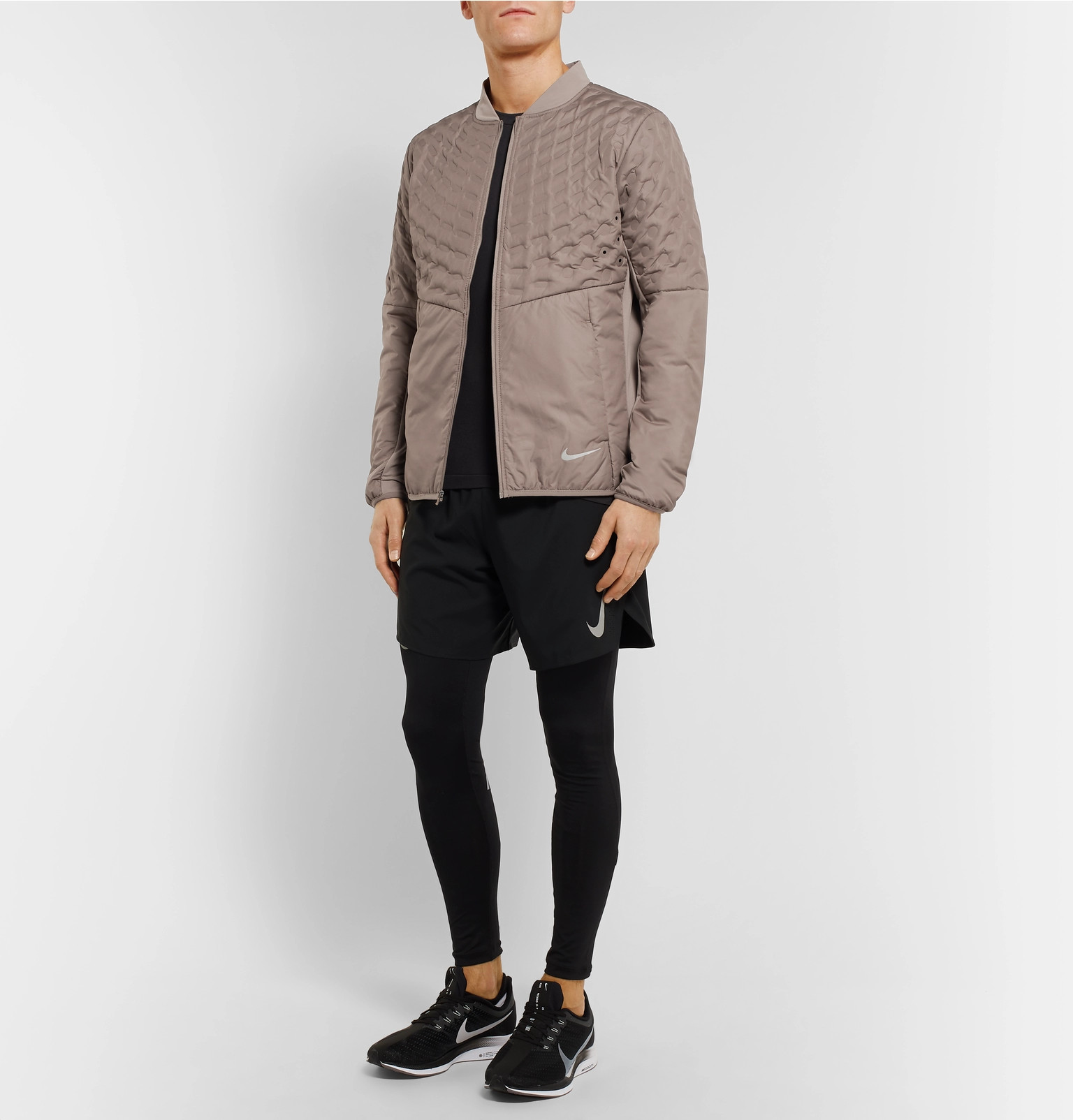 e95b70ccfa2e Nike Running - AeroLoft Perforated Quilted Shell Jacket