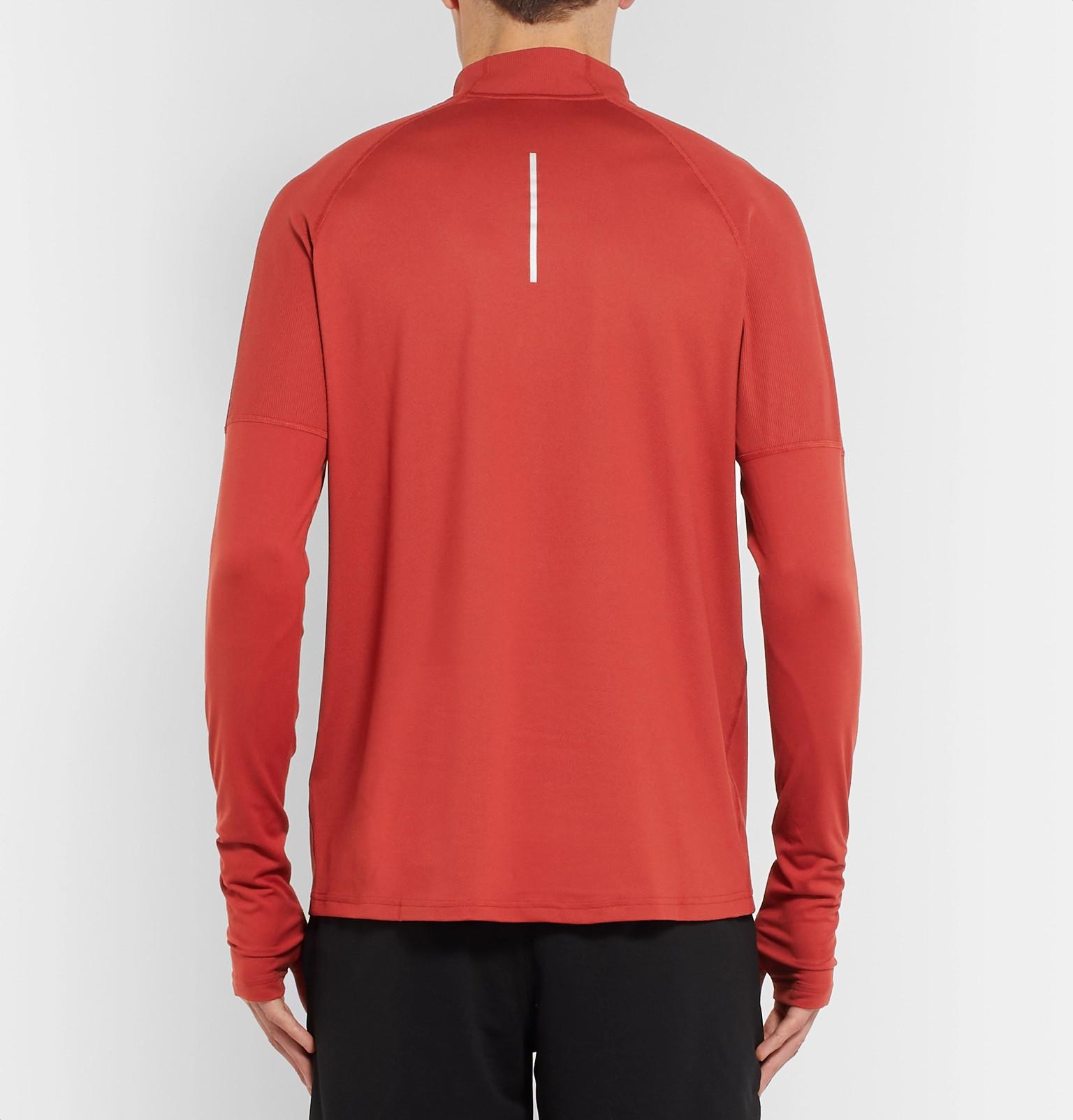 Nike Top Mélange Half Runningelement Sphere Therma Zip Dri Fit rwrW6R7q8O