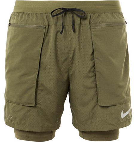 da67023cdab78 Nike Running - Flex Stride 2-In-1 Dri-FIT Mesh Shorts