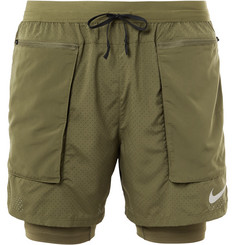 Nike Running Flex Stride 2-In-1 Dri-FIT Mesh Shorts