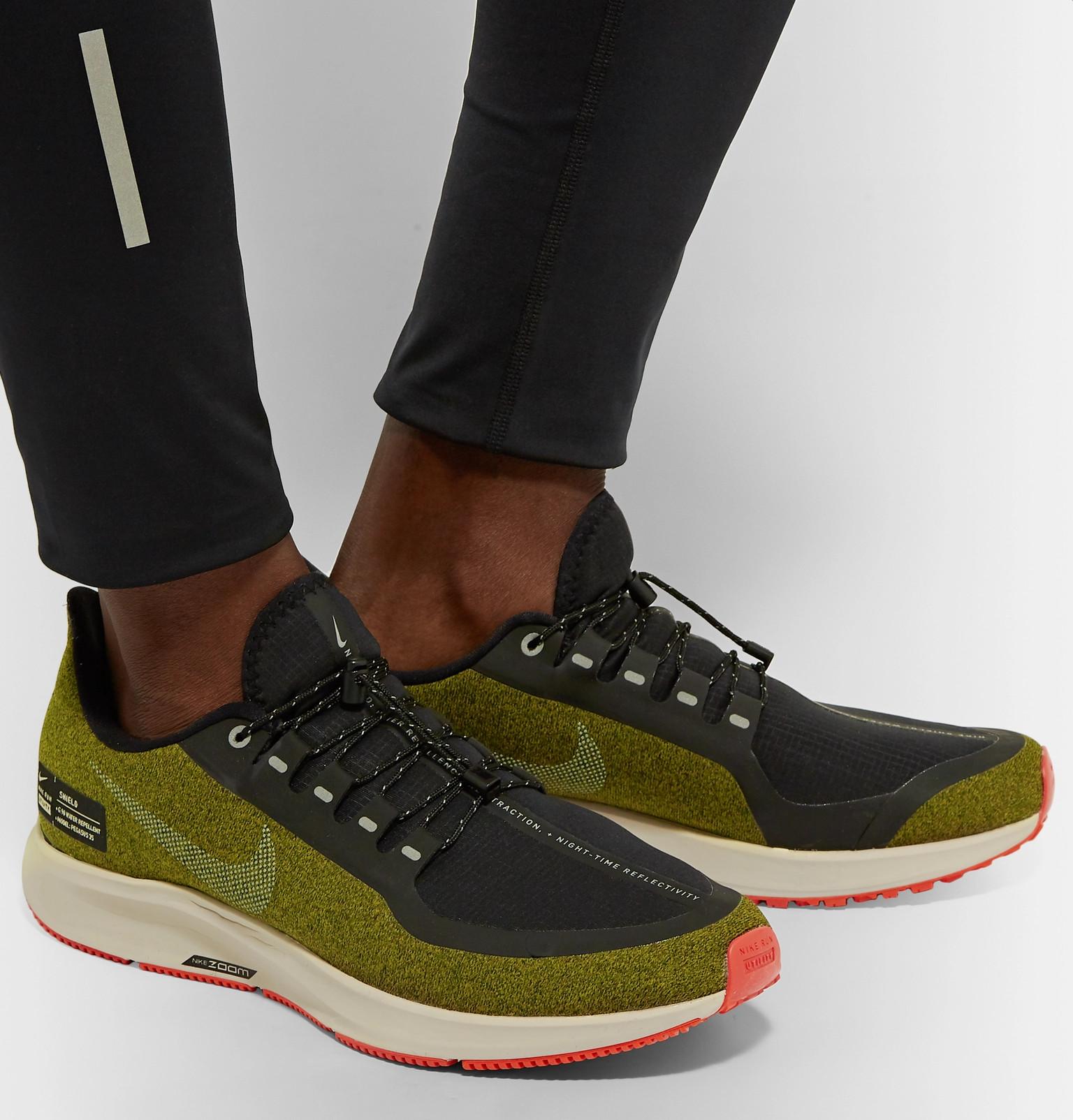 641af67674 Nike Running - Air Zoom Pegasus 35 Shield Water-Repellent Sneakers