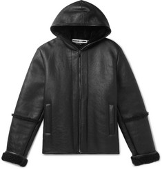 McQ Alexander McQueen Shearling Hooded Jacket