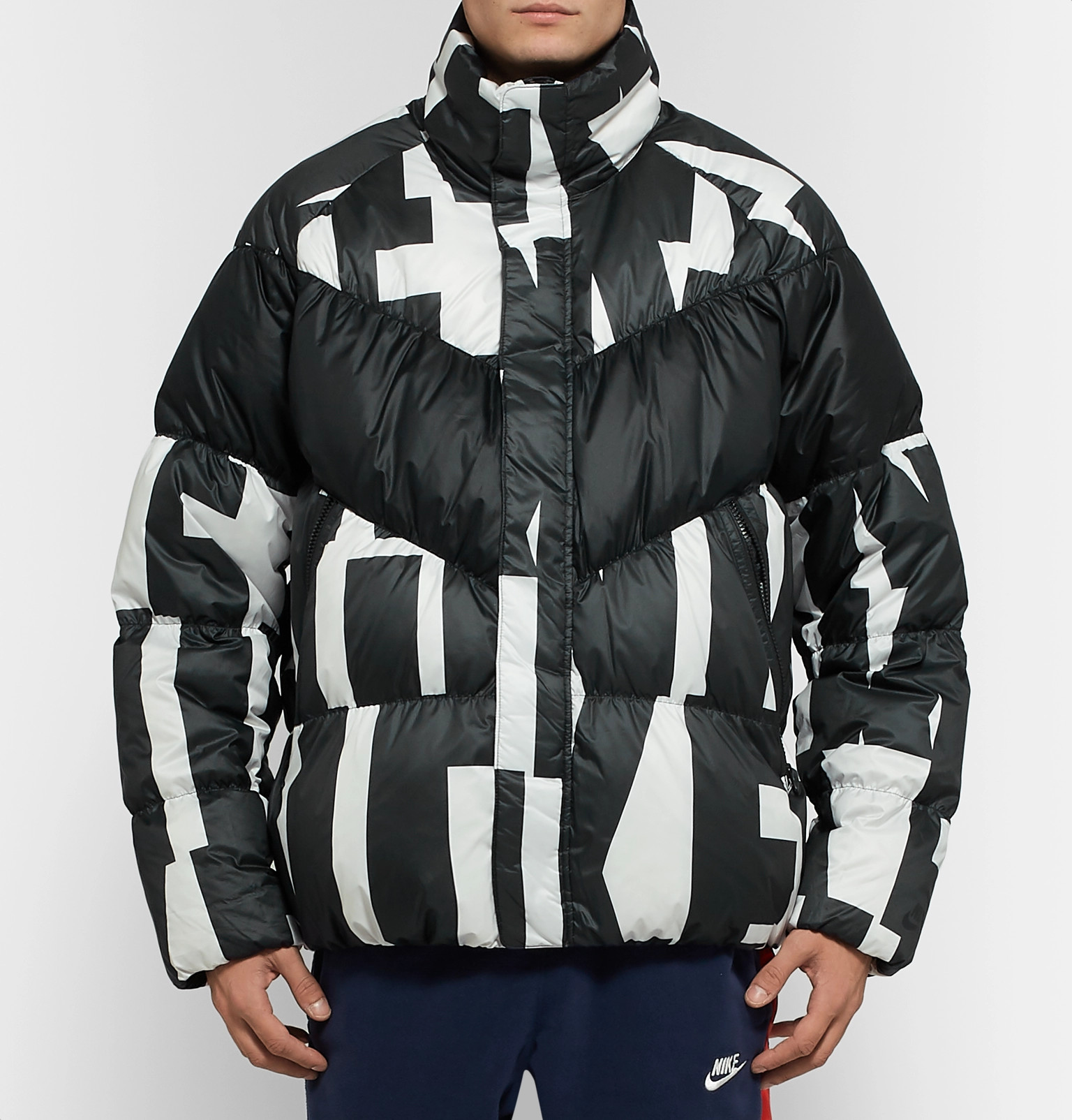 bdc59ad7212 Nike - Sportswear Quilted Printed Shell Down Jacket