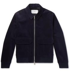 Mr P. Cotton-Corduroy Blouson Jacket