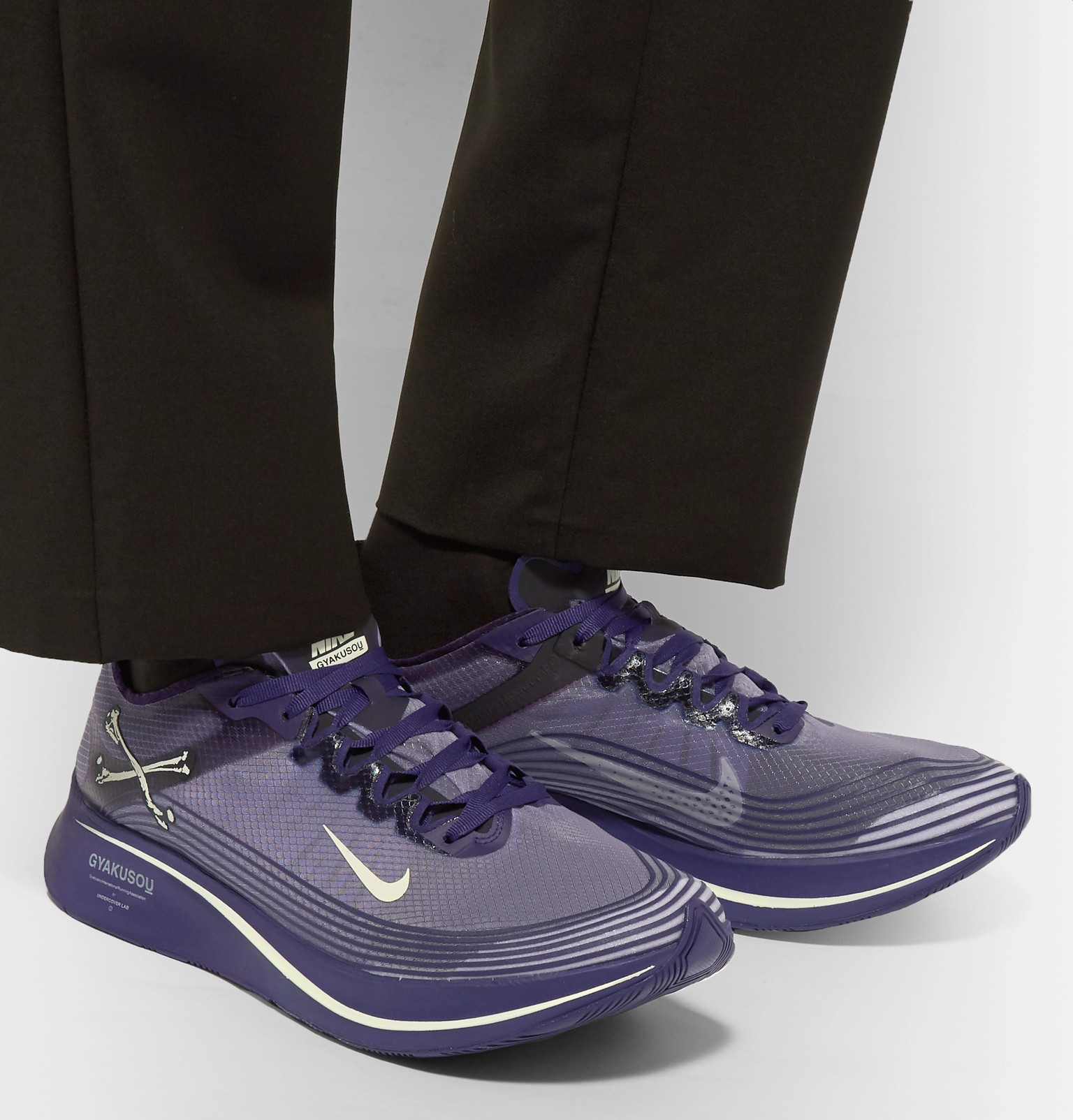 abf1ec5ca30f3 Nike x Undercover - + GYAKUSOU Zoom Fly SP Ripstop Sneakers