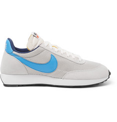 Nike Air Tailwind 79 OG Leather-Trimmed Suede and Mesh Sneakers