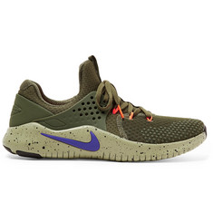 Nike Training Free TR V8 Rubber-Trimmed Mesh Sneakers