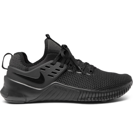 Metcon Free Rubber Trimmed Mesh Sneakers by Nike Training