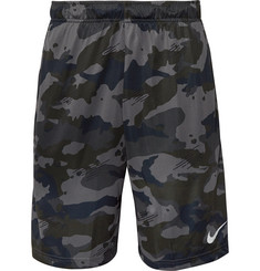 Nike Training - Camouflage-Print Dri-FIT Shorts