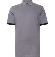 Nike Golf Contrast-Trimmed Dri-FIT Piqué Golf Polo Shirt