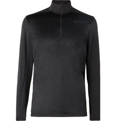 Nike Golf Stretch Mesh-Panelled Dri-FIT Half-Zip Top