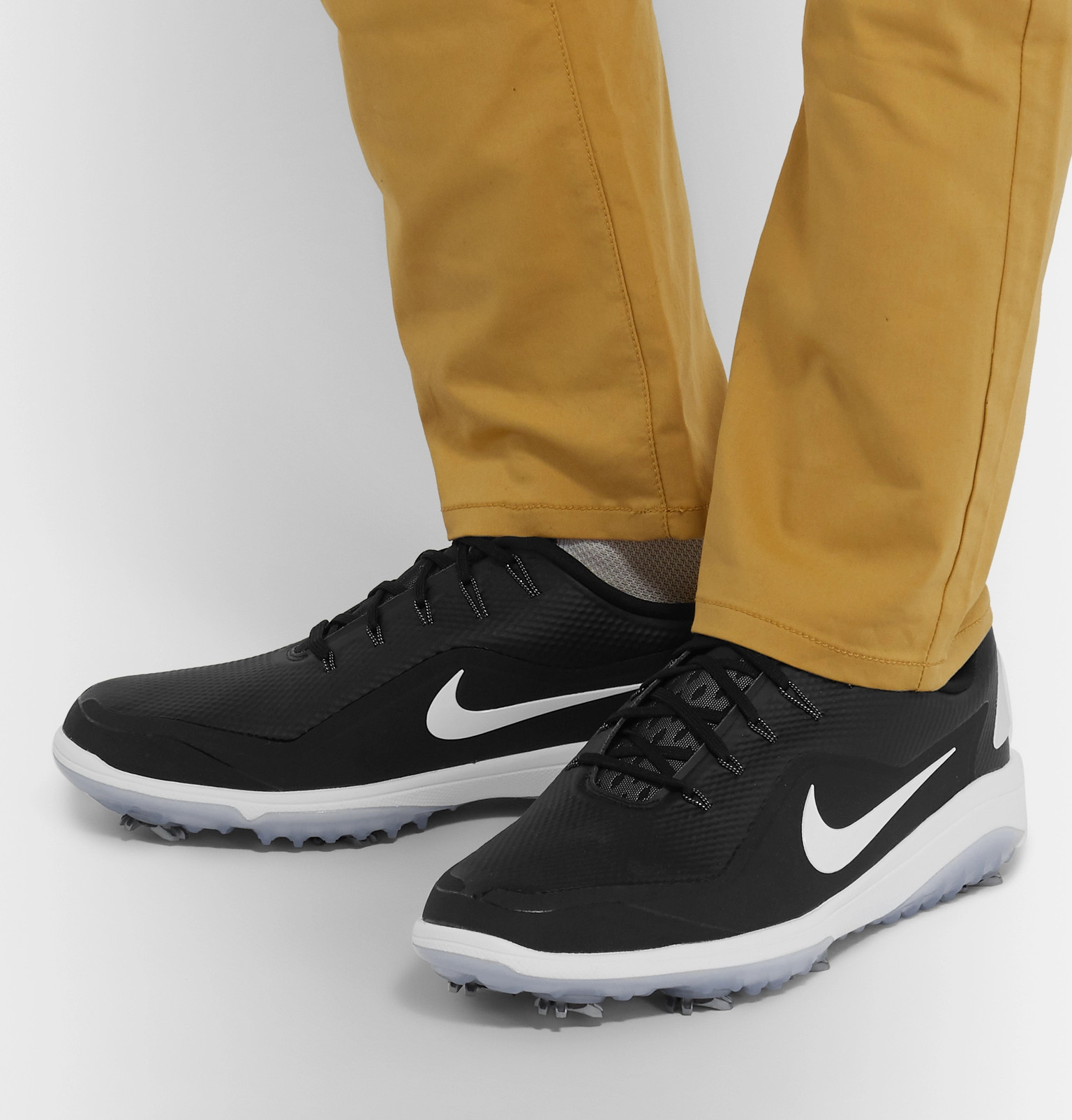 online retailer ad76c b5a14 Nike GolfReact Vapor 2 Coated-Mesh Golf Shoes