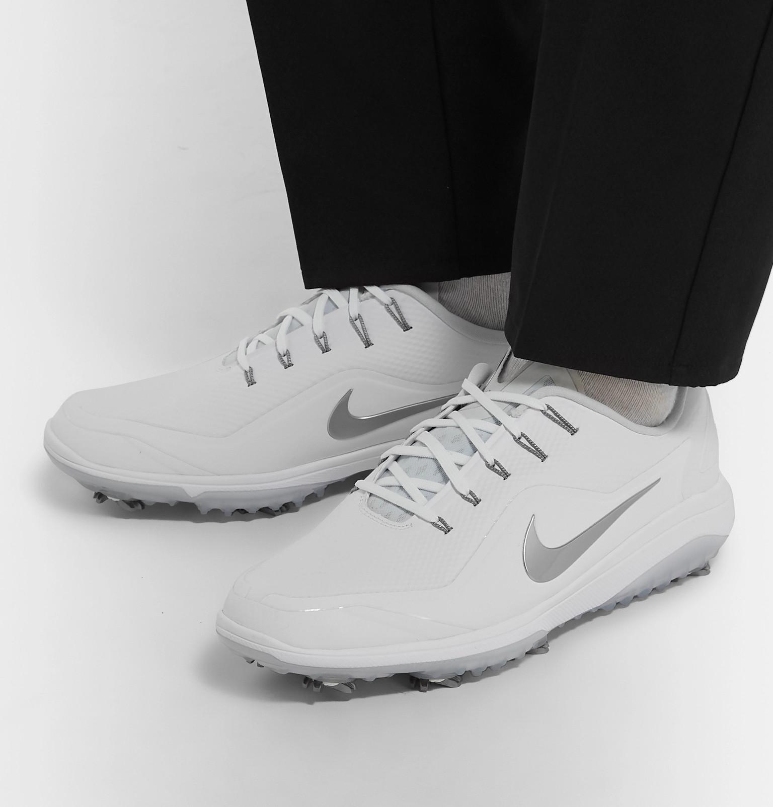 online retailer 6f4b0 fd02d Nike GolfReact Vapor 2 Coated-Mesh Golf Shoes